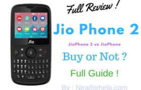 Jio Phone 2 full reviews, Jio phone VS Jio Phone 2